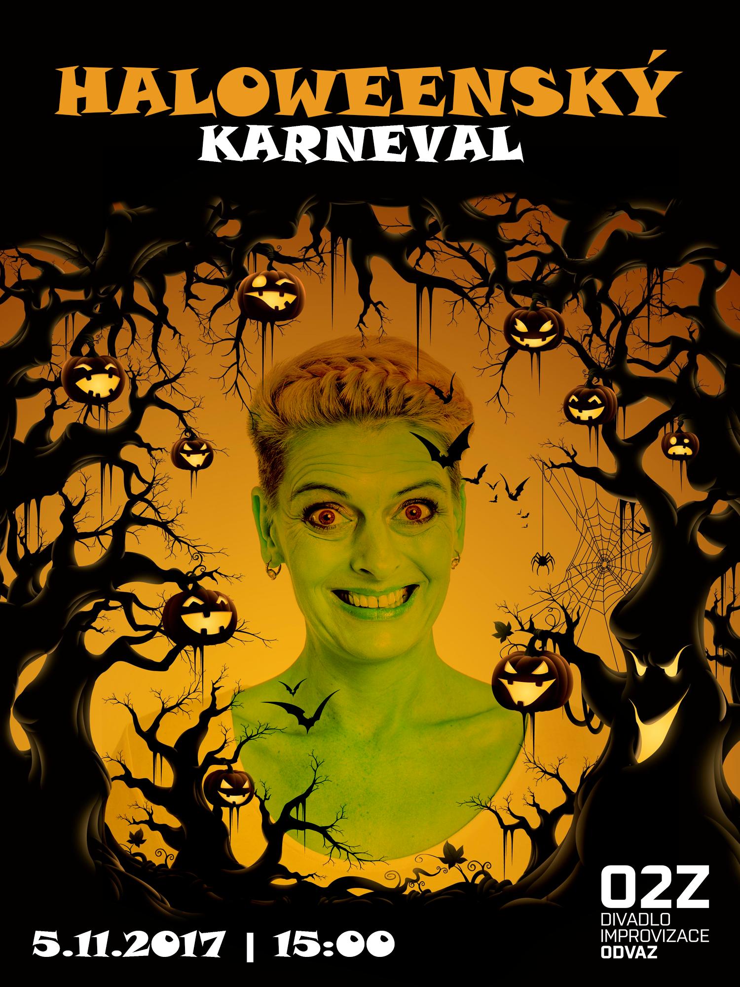 Halloweenský karneval pro děti a rodiče