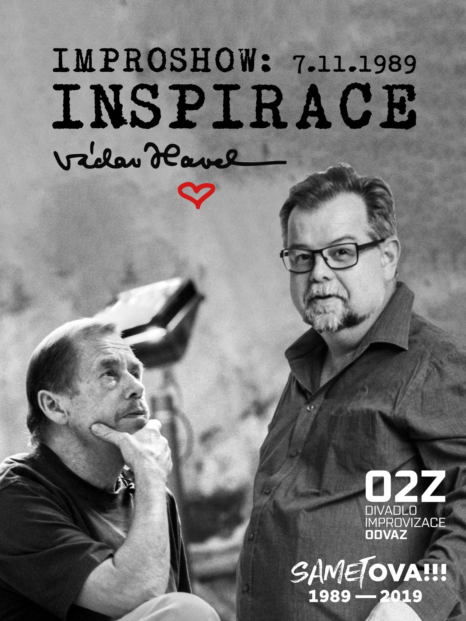 Improshow: Inspirace Václavem Havlem