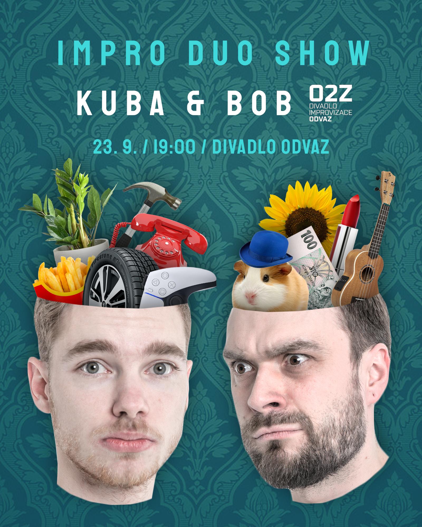 Impro Duo Show: Kuba a Bob
