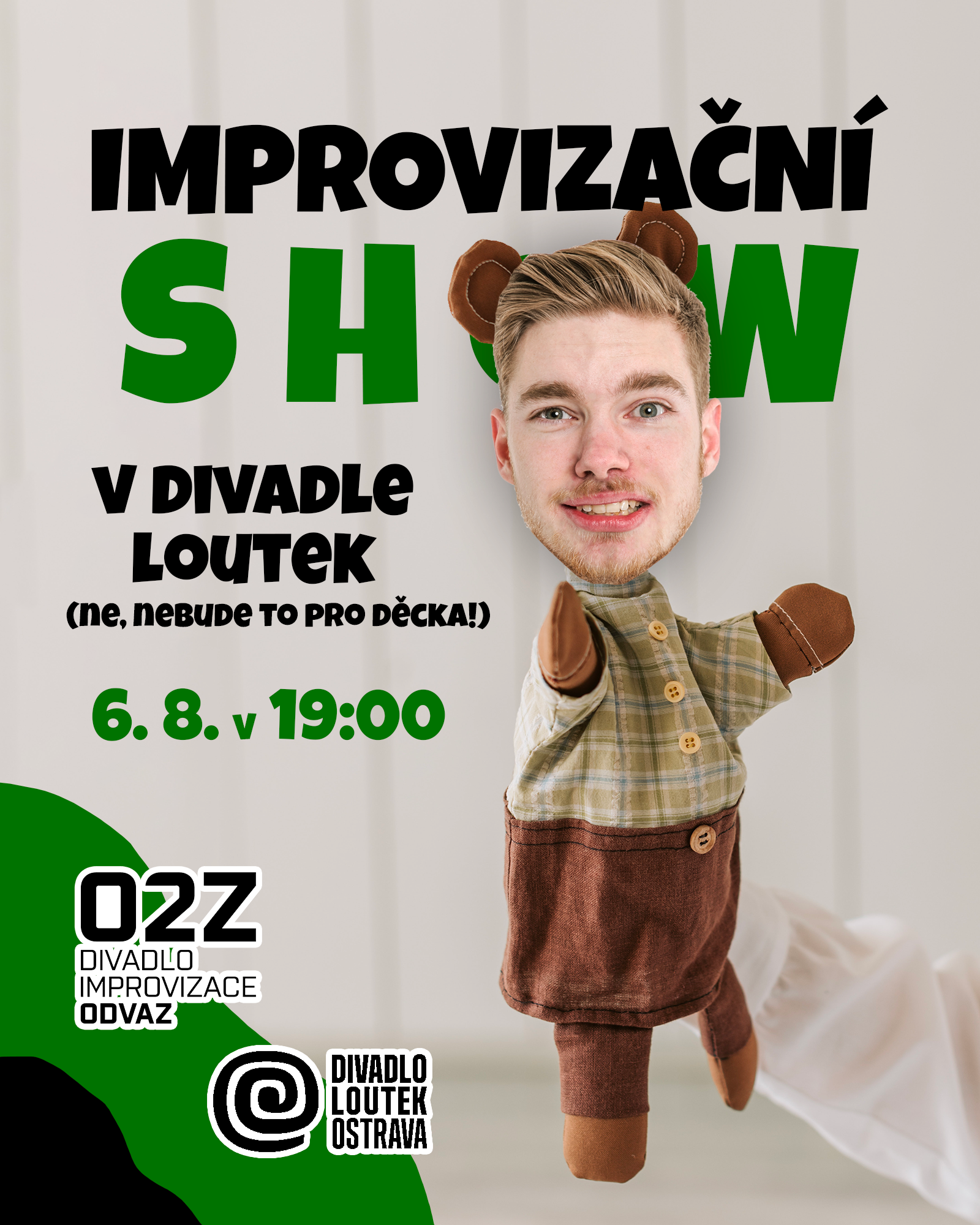 Improvizační show na festivalu PIMPRLÉTO