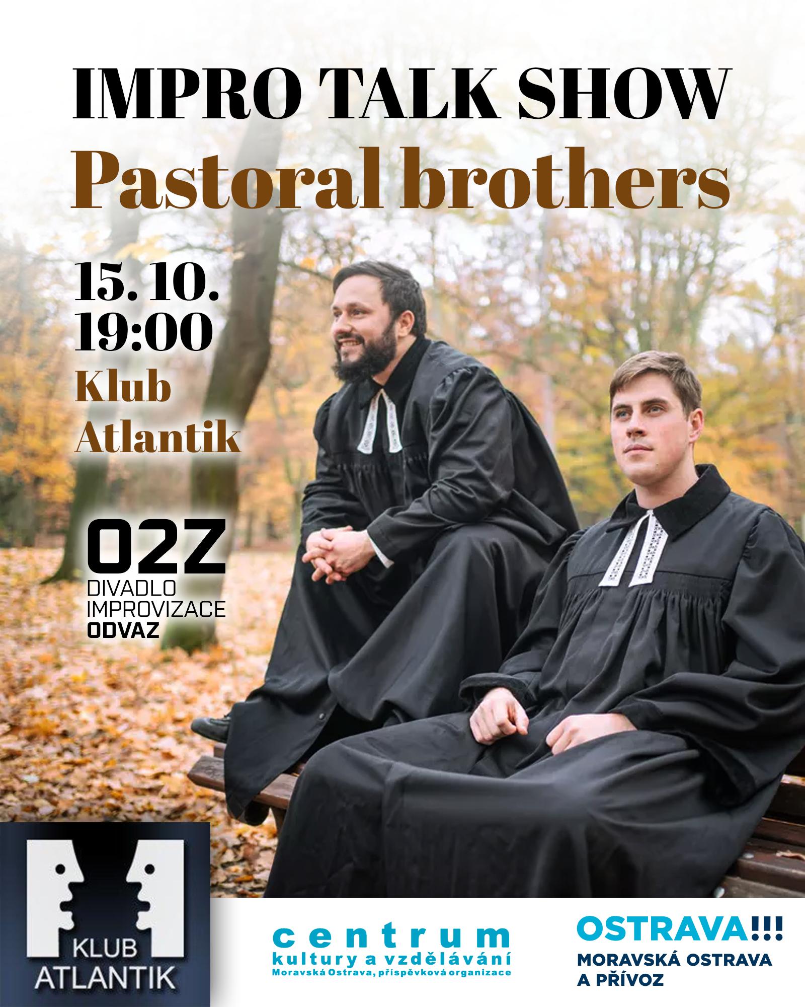 Impro talk show: Pastoral brothers