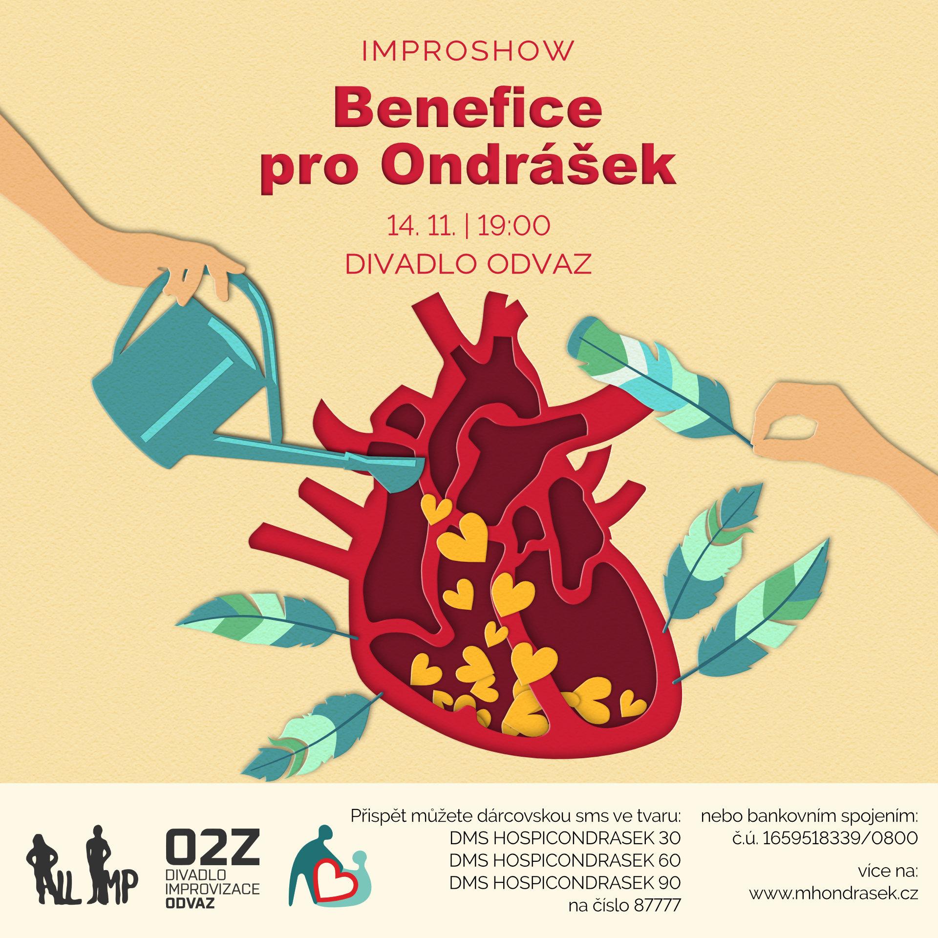 Benefice pro mobilní hospic Ondrášek
