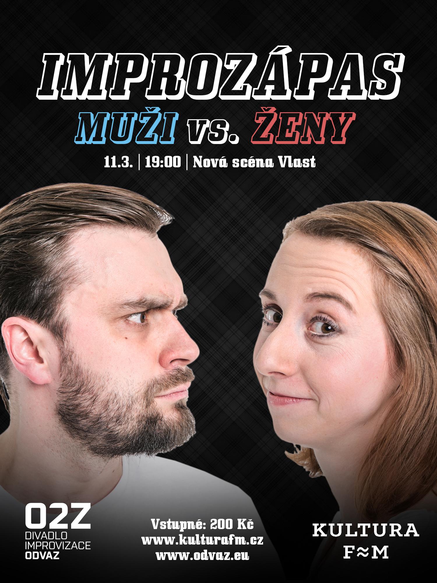 Improvizační zápas: Muži vs. Ženy