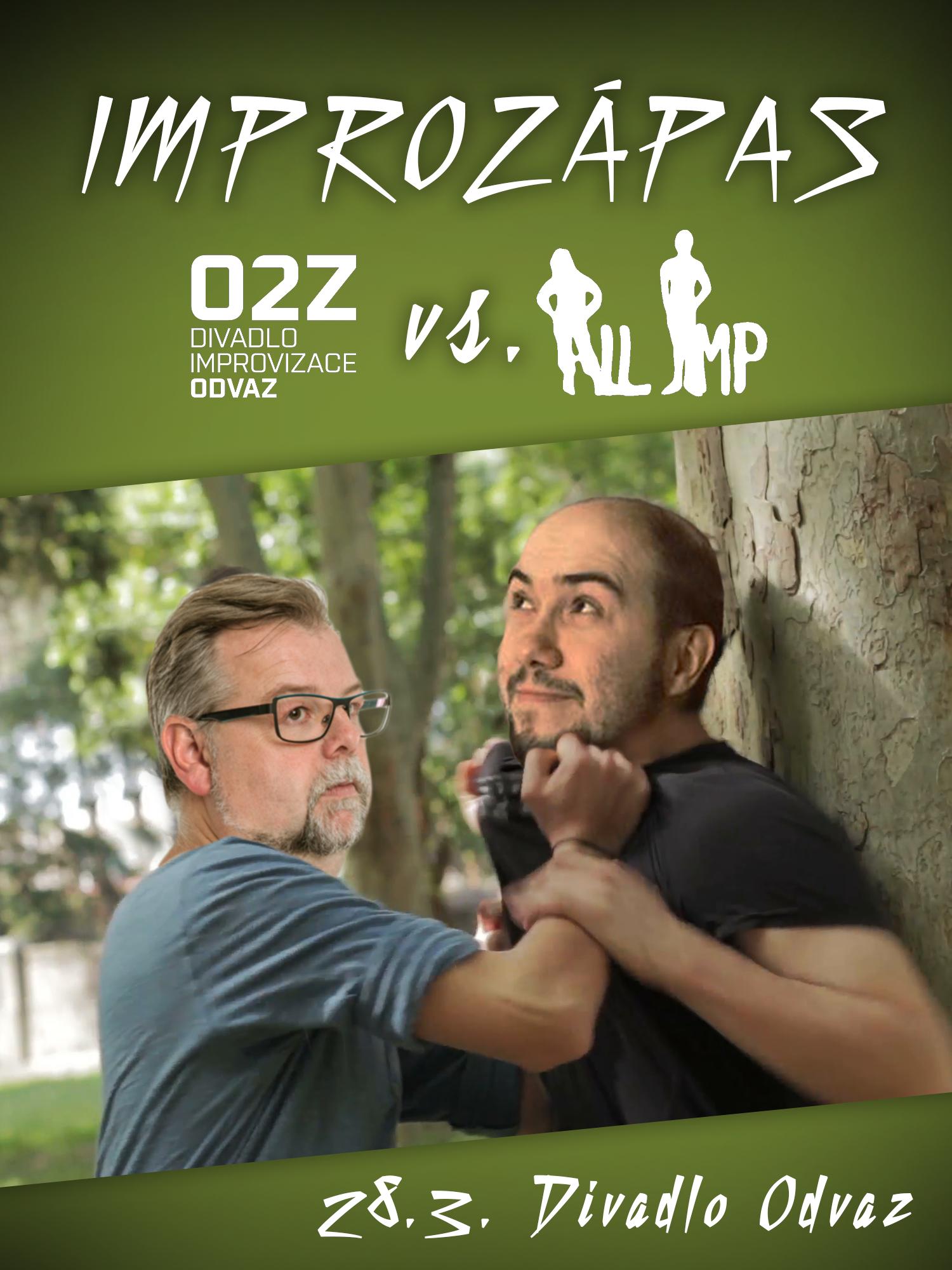 Improvizační zápas: Odvaz vs. All Imp (VYPRODÁNO)